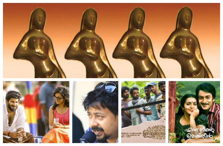 Charlie and Moideen sweep Kerala State Film Awards