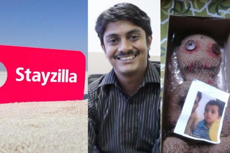 Stayzilla CEO Yogendra Vasupal arrested black magic dolls sent to threaten family and staff