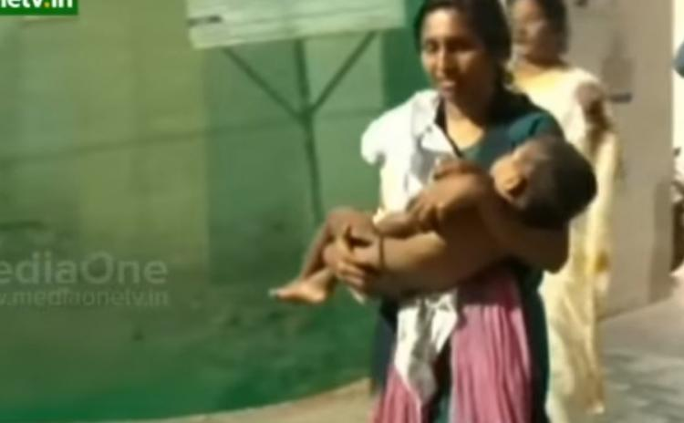 18-month-old child attacked by stray dogs in Kerala