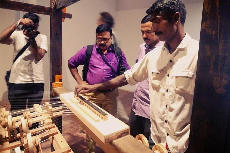 Mexican artist luthiers create music from discarded Kerala loom