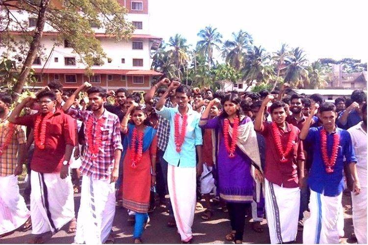 No students can protest disrupting academic activities Kerala High Court