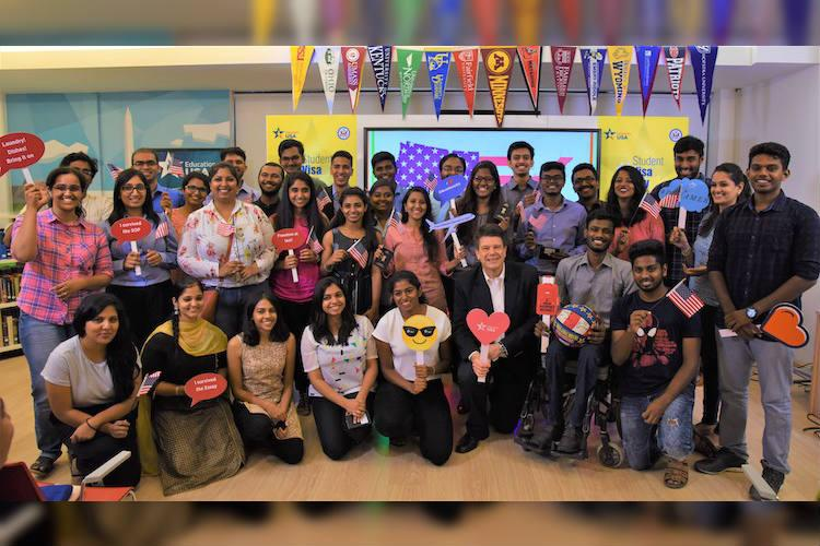 31 students given student visas for US as Chennai celebrates Student Visa Day