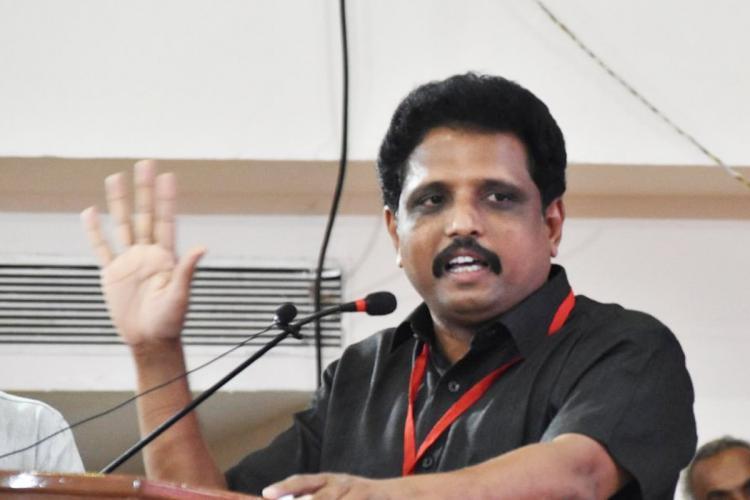 Madurai MP S Venkatesan
