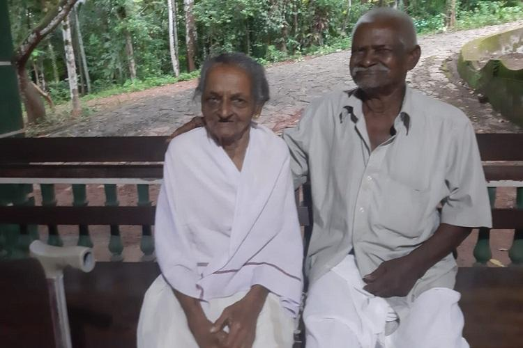 Hes 90 shes 88 and they were reunited in a Kerala old age home 36 years later