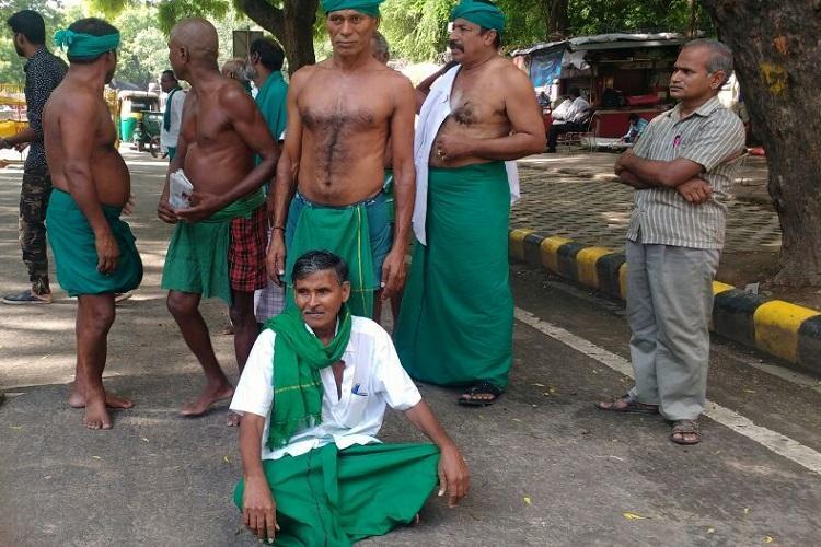 If I die the Centre might listen to our plea TN farmer protesting in Delhi attempts suicide