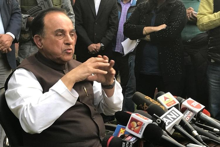 Bad judgment will be short-lived Subramanian Swamy on 2G verdict