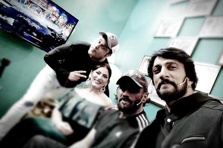 Sudeep promotes Pailwaan on The Kapil Sharma Show
