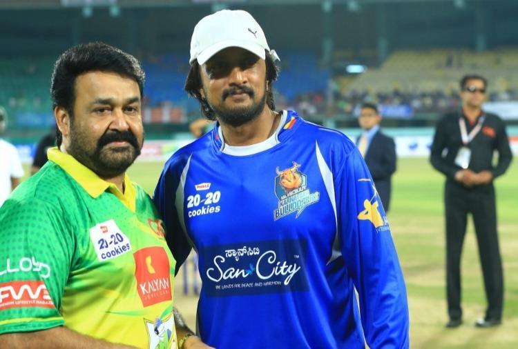Sudeep to make Malayalam debut in Mohanlals Neerali