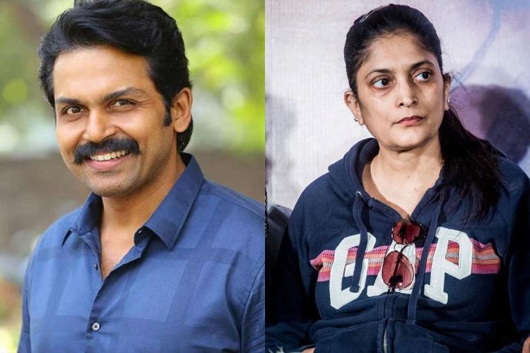 After 'Soorarai Pottru', Sudha Kongara to join hands with Karthi for new project
