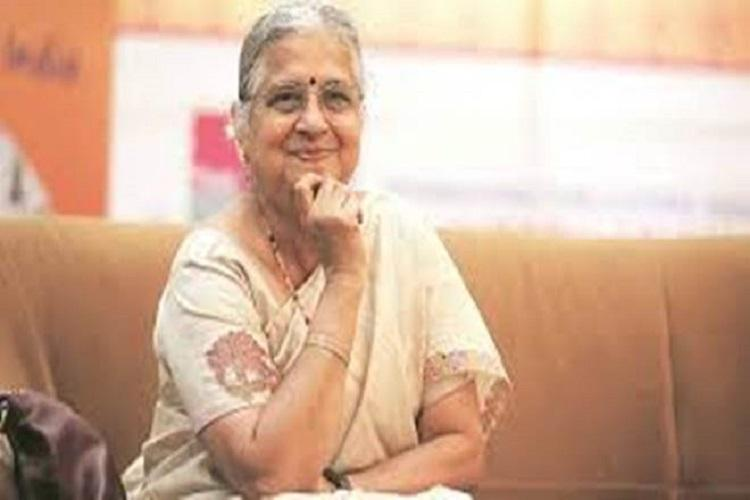 Sudha Murthy donates Rs 10 crore for flood relief in Karnataka