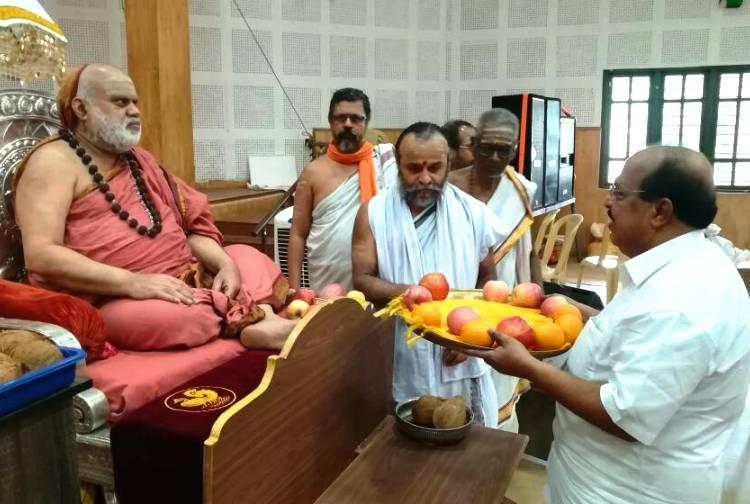 Communists not against religion Kerala minister defends visit to seer