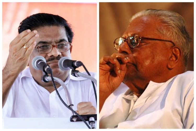 KPCC chief Sudheeran mocks Achuthananadan for contesting polls war of words ensues