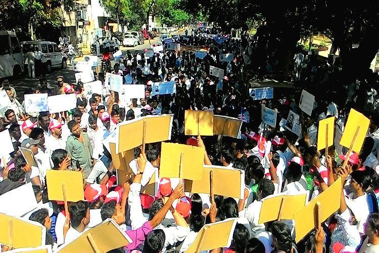 When an assortment of people came together demanding Sagayam IAS join politics