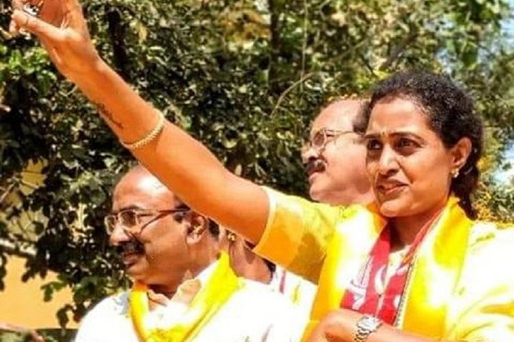 Telangana polls In the heart of Hyderabad NTRs granddaughter banks on lineage