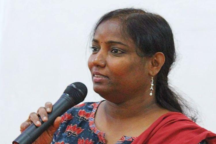 Activists launch signature campaign in support of Telangana Dalit activist prof Sujatha