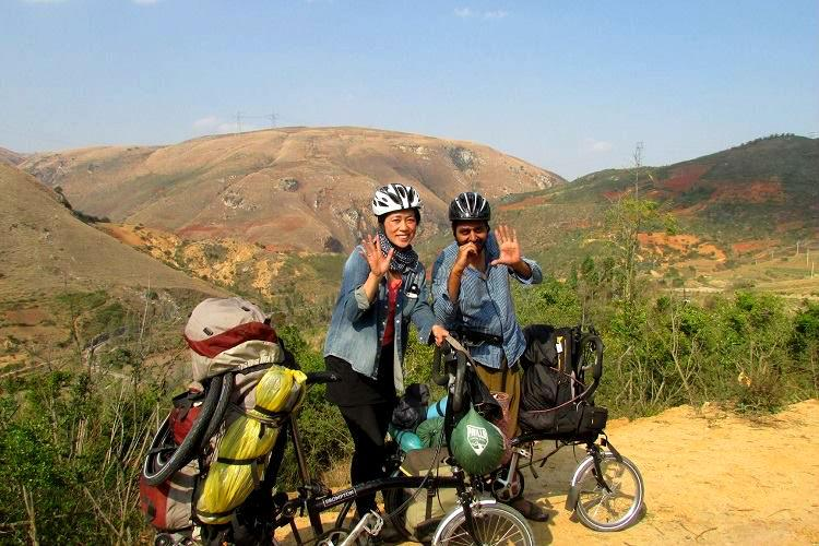Around the world in 400 days At 5 a day this Bengaluru couple cycled across 38 borders
