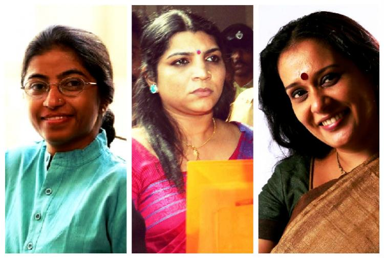 Well-known women activists Sunitha Krishnan and Parvathy clash on Solar Saritha