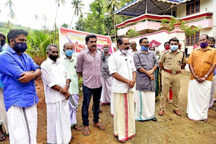 Uraj Venjaramoodu and DK Murali went quarantine