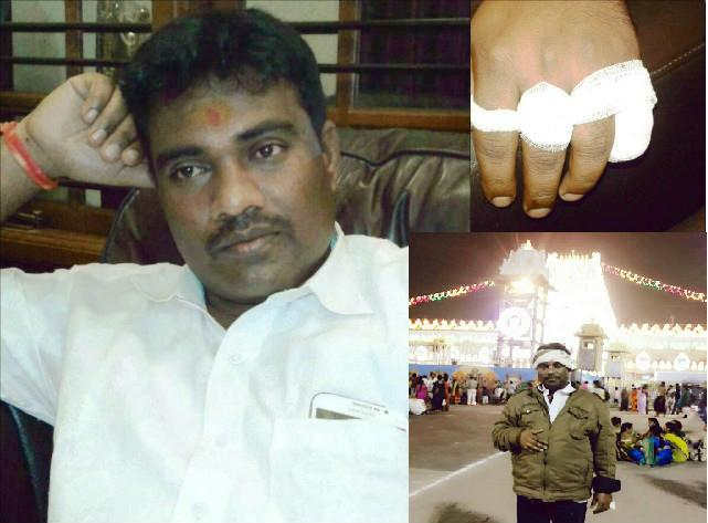Tirumala denies Congressman offered chopped finger he insists he did for Gandhis and is proud