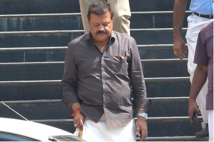 Car tax evasion row Suresh Gopi appears before the Crime Branch