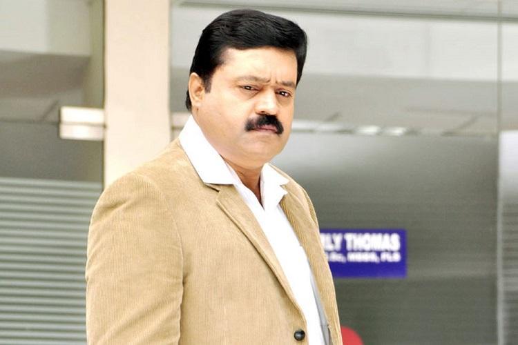 Suresh Gopi joins the sets of Kaval