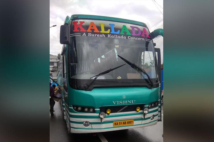 Video Private bus staff thrash passengers in Kerala force them out