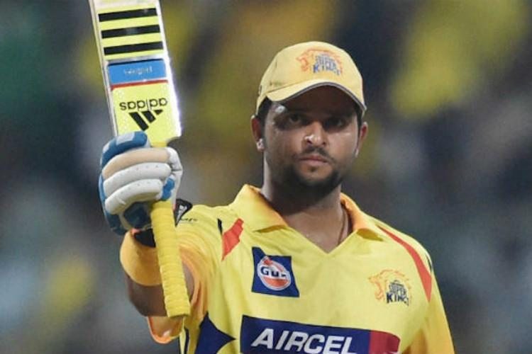 Suresh Raina to miss CSKs next two games due to calf injury