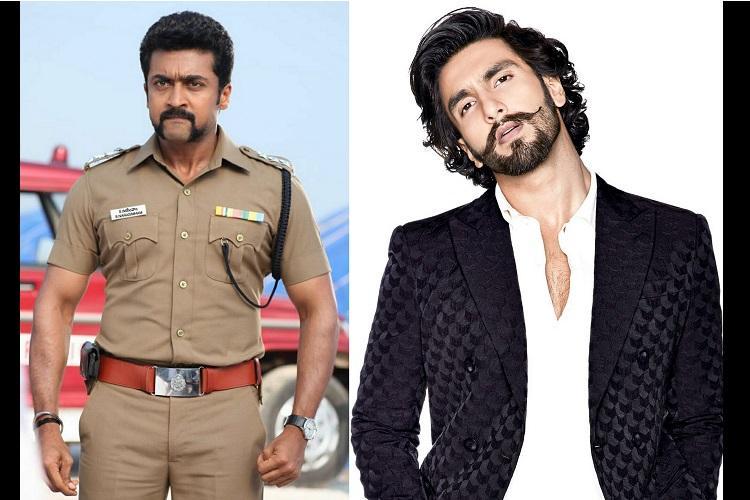 Heres why Ranveer Singh is in awe of Suriya