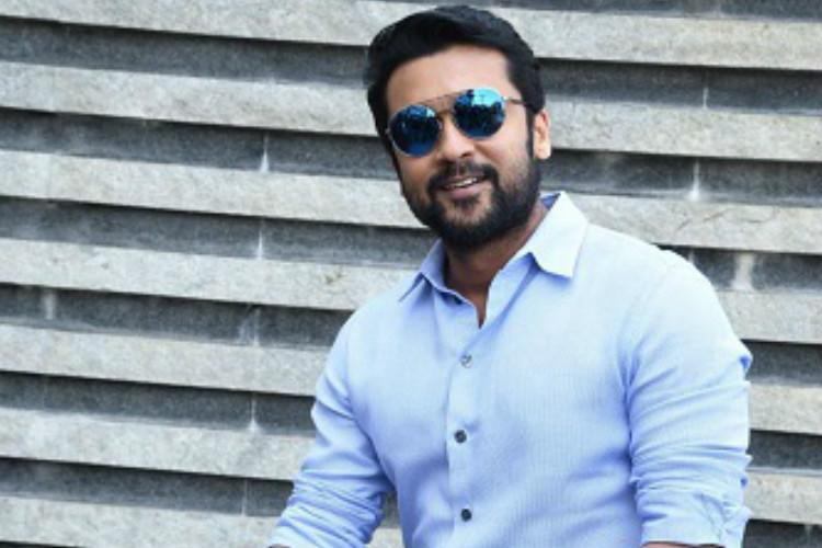 Watch When Suriya had to make a dash to avoid getting mobbed by fans at a theatre