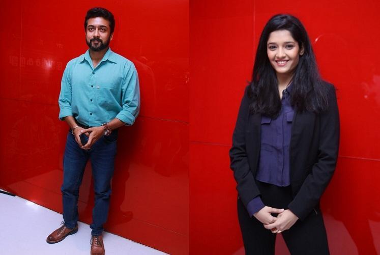 Irudhi Suttru Ritika Singh in Suriyas next film with director Muthaiah