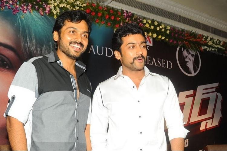 Suriya to produce brother Karthis film