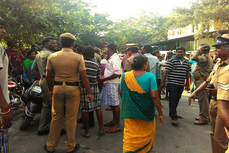 Ground report Chennai slum erupts in anger as govt forcibly shifts them to distant colonies