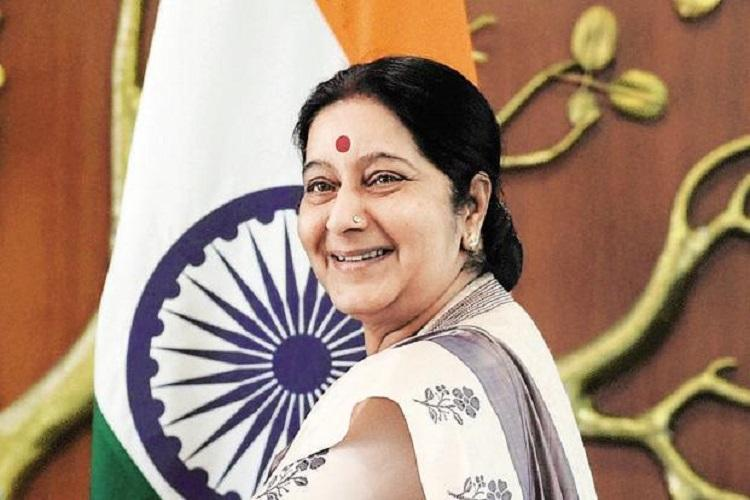 Sushma Swaraj helps Indian who lost passport in USA days before wedding