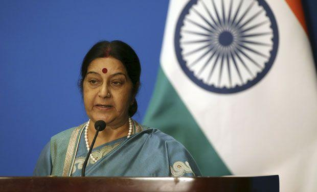 Swaraj to Indian workers in Saudi File claims return by Sept 25 well bring you back for free