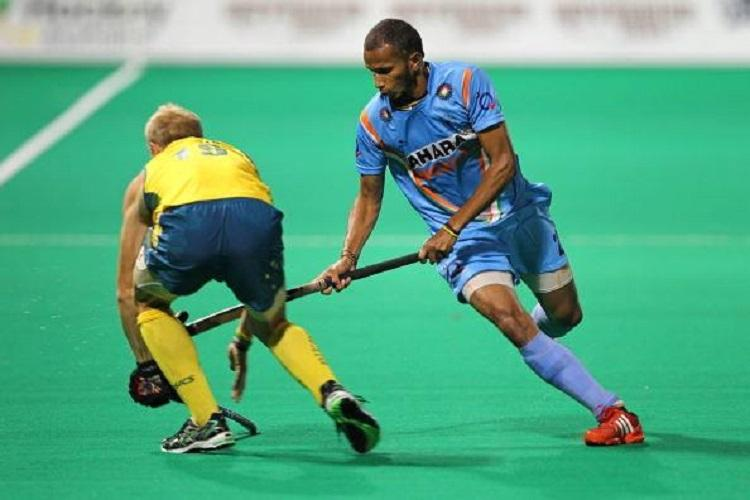 Indias Olympic Hope Hockey vice-captain S V Sunil from Coorg is raring to go