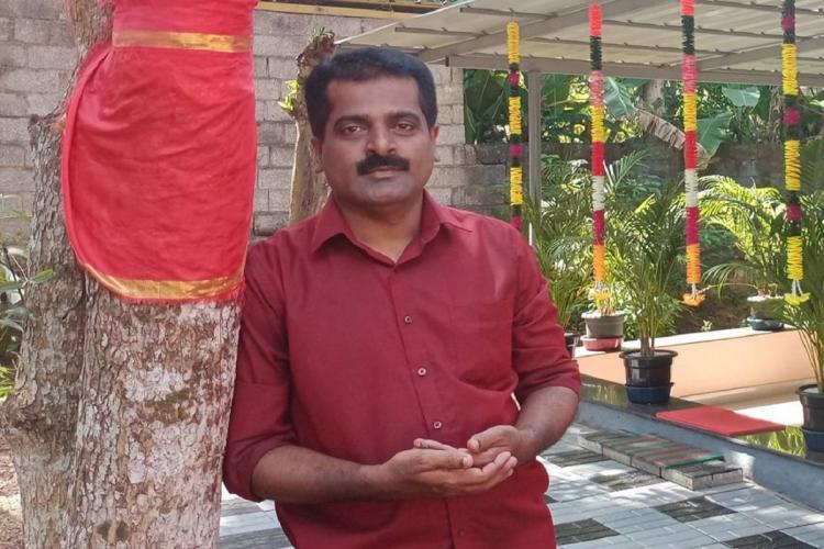 Journalist SV Pradeep