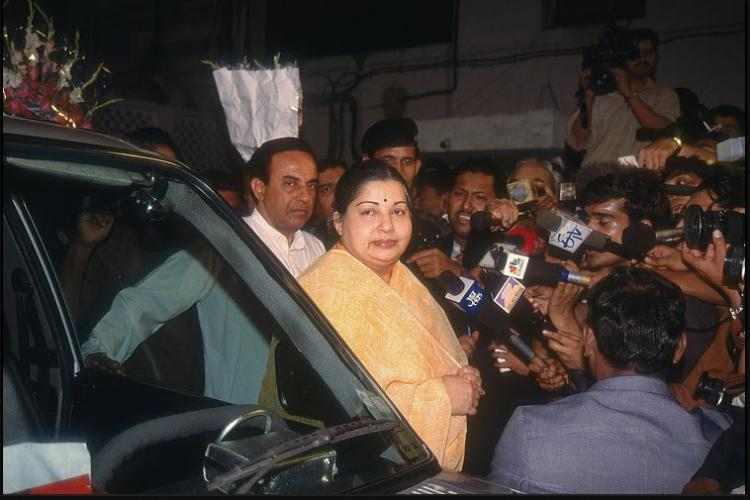 Frenemies forever Tracing the 25-year history between Jayalalithaa and Subramanian Swamy