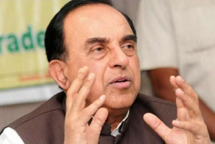 Subramanian Swamy pitches for DMK DMDK BJP alliance in TN