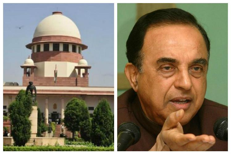 Hate speech Centre opposes Subramanian Swamys plea in SC