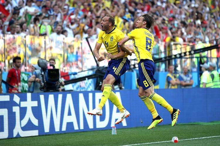 Sweden beat South Korea by a solitary goal in Group F clash