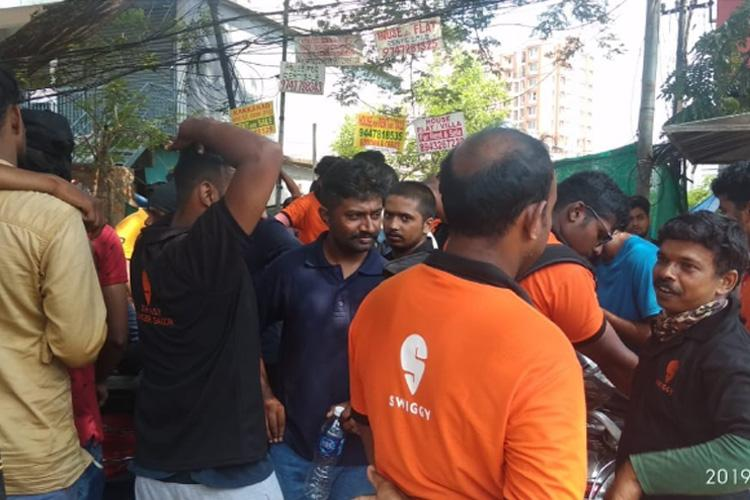 Swiggy delivery partners in Kochi say theyre being forced to resign for protesting