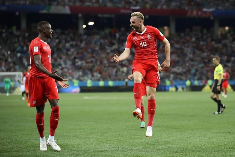 World Cup Switzerland qualify for knockouts after 2-2 draw with Costa Rica