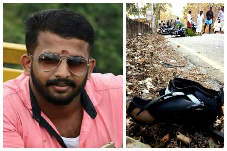 RSS worker hacked to death in Kerala