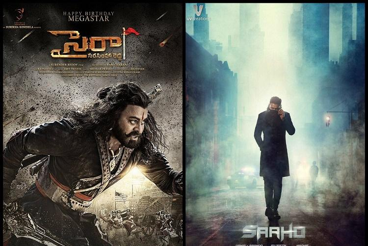 Saaho and Sye Raa to clash at box office
