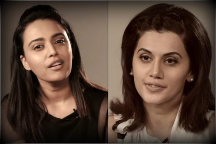How to manage your cleavage Swara Bhaskar and Taapsee Pannu have some terrific tips in this viral video