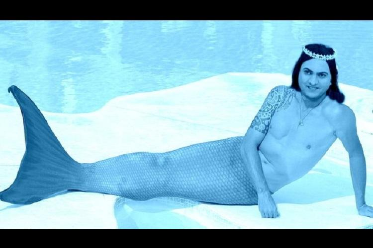 Heres one thing Indians and Pakistanis are rooting for equally Taher Shah as a mermaid