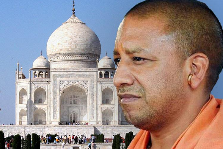 Yogi Adityanath Government is always under radar for being against Taj Mahal