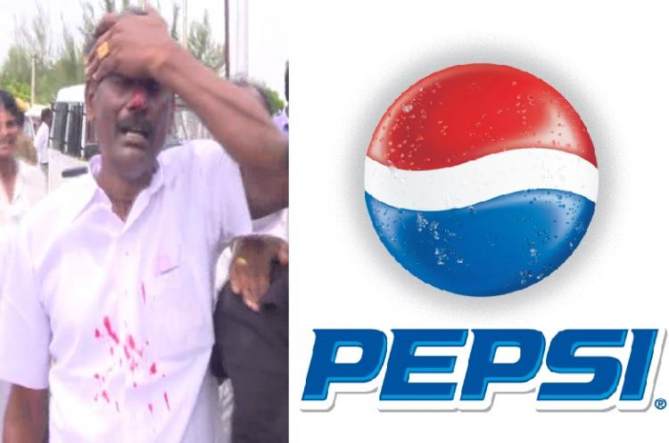 Protests against Pepsis new plant in Tamil Nadu are turning loud and bloody - and no one cares