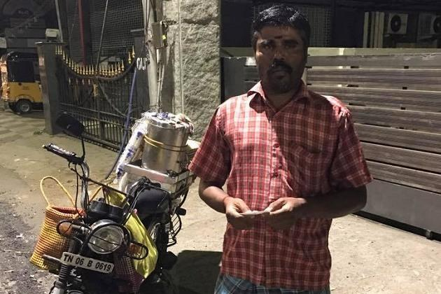 Serving tea helping the law Chennai police to adopt night-time tea sellers as informers