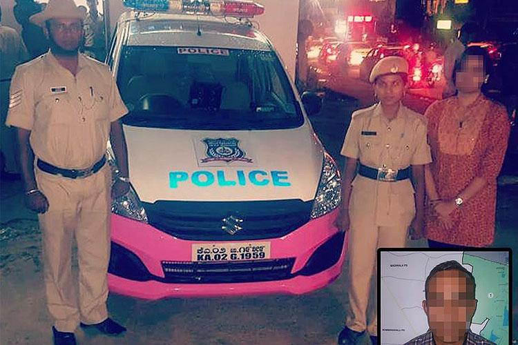 Bengaluru woman molested on bus turns to police app techie harasser nabbed immediately